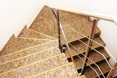 Modern stairs Stock Images