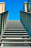 Modern stairs into the sky Stock Photography