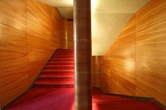 modern stairway Στοκ εικόνα με δικαίωμα ελεύθερης χρήσης