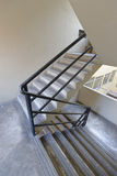 Modern stairwell Stock Images