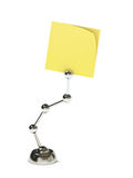 Modern stand holding blank sticky post Stock Photography