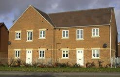 Modern Starter Homes Stock Images