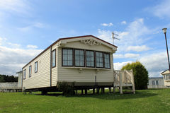 Modern static caravan Royalty Free Stock Image