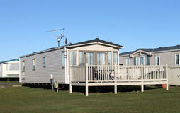 Caravan park Stock Photography
