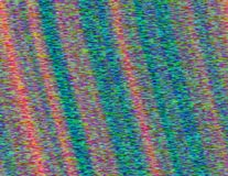 Distorted glitched screen Stock Photo