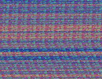 Distorted glitched screen Royalty Free Stock Photography
