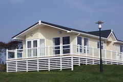 Modern static holiday home. Stock Photography