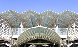 Modern Station Royalty-vrije Stock Afbeeldingen
