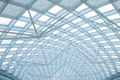 The modern station building structure Stock Photography