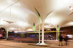 Modern station i Munich Royaltyfri Foto