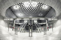 Modern station interior Stock Images