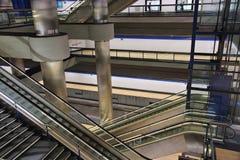 modern station train Στοκ φωτογραφία με δικαίωμα ελεύθερης χρήσης
