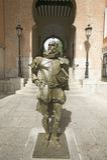 Modern statue of  Don Quixote, written by author Miguel de Cervantes of Toledo, Toledo, Spain Royalty Free Stock Photos