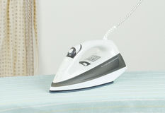 Modern steam iron Royalty Free Stock Image