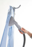 Modern steam iron. Royalty Free Stock Photography