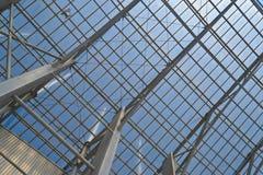Modern steel architecture Stock Photos