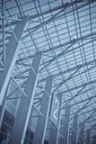 Modern steel architecture Royalty Free Stock Photo