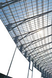 Modern steel architecture Royalty Free Stock Image