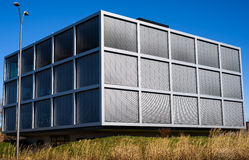 Modern Steel Building Royalty Free Stock Image