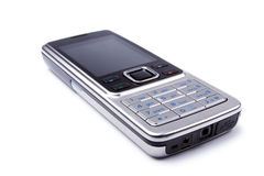 Modern steel cell-phone stock images