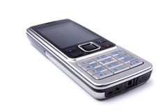 Modern steel cell-phone - rusified Royalty Free Stock Photo