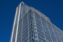 Modern steel and glass building Stock Photo