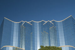 Modern steel and glass house Stock Photography