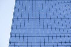 Modern steel and glass office building detail Royalty Free Stock Photo
