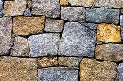 modern stenvägg för bakgrund Arkivbilder