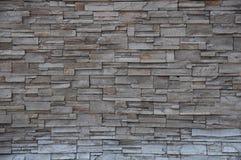 modern stenvägg för tegelsten Royaltyfri Bild