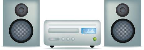 Modern stereo or hifi Stock Image