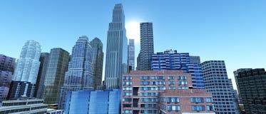 modern stigning för byggnader high fotografering för bildbyråer