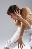 modern stil för dansare Arkivfoton