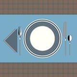 Modern stil 3 för tabellinbrott stock illustrationer