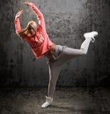 Modern stildansare Fotografering för Bildbyråer