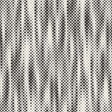 Modern stilfull rastrerad textur Ändlös abstrakt bakgrund med slumpmässiga formatfyrkanter Modell för sömlösa fyrkanter för vekto vektor illustrationer