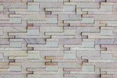 Modern stone brick wall Royalty Free Stock Images
