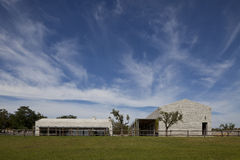 Modern stone house in Istria Royalty Free Stock Photo