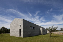 Modern stone house in Istria. Croatia royalty free stock photos