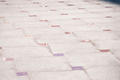 Modern stone pavement Stock Photography