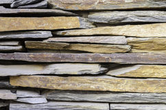 Modern stone slate wall background Royalty Free Stock Image