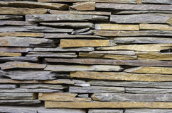 Modern stone slate wall background Stock Photography