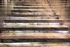 Modern  stone staircase Stock Image