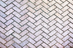 Modern stone street road pavement texture Royalty Free Stock Images