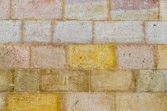 Modern stone texture brick fence Stock Image