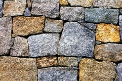 Modern stone wall background Stock Images