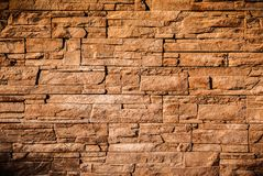 Modern stone wall background texture Royalty Free Stock Photos