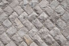 Modern stone wall close up as background. Royalty Free Stock Photos