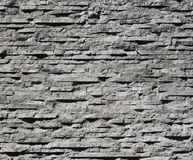 Modern stone wall decoration Royalty Free Stock Image