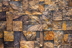 Modern stone wall Royalty Free Stock Photos